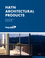 Hayn Architectural Products Catalog